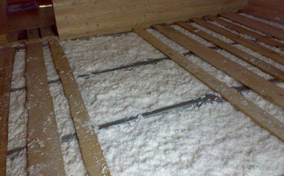Чим і як утеплити підлогу в