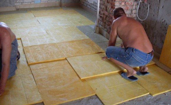 Утеплювач для підлоги під стяжку