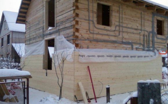 Утеплення будинку з бруса