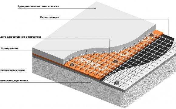 структура горищного