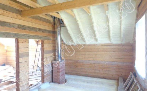 Утеплення дерев'яного будинку