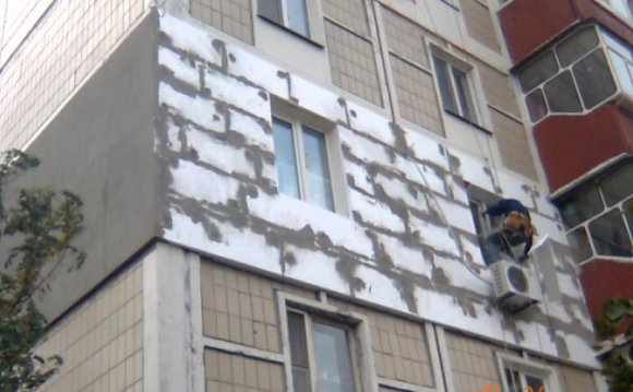 Утепление панельного дома