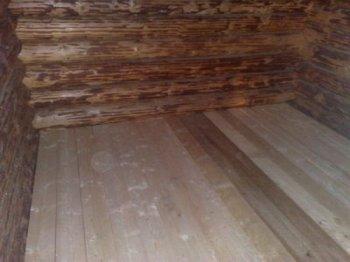 Дерев'яні підлоги в лазні