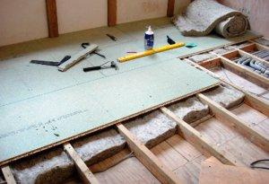 Як утеплити підлогу на дачі