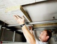 Обшивка утеплювачем стелі в підвалі - то з чого варто починати роботи по утепленню підлоги 1 поверху (чому - було сказано на початку статті)