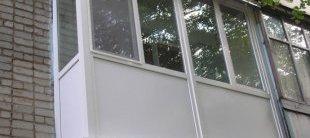 Скління балкона своїми руками.  Як засклити балкон.  Варіанти скління балкона4.