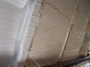 Підшивка даху на балконі
