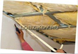 Розрахунок теплоізоляції для стелі