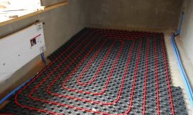 Система водяного теплої підлоги
