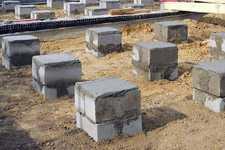 Будівництво фундаменту під лазню