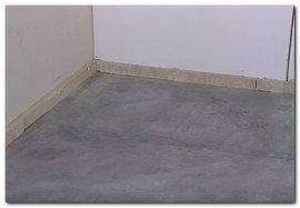 теплоізоляція бетонної підлоги