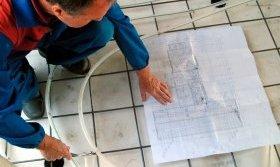 Укладання петель трубопроводу виконується строго за проектом Фото: Uponor