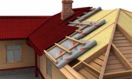 Установка даху самостійно: етапи і нюанси процесу