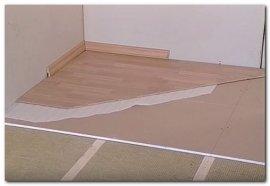утеплення бетонної підлоги пінопластом