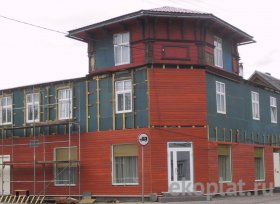 утеплити дерев'яний будинок