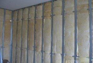 Внутрішнє утеплення стін підвалу